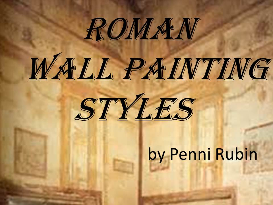 Who wants to paint on a wall? The Roman\'s did it big time! | Worth ...